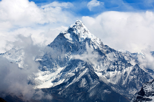 Ama Dablam Mount Nepal Stock Photo - Download Image Now