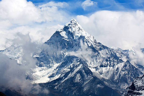Ama Dablam Mount, Nepal stock photo
