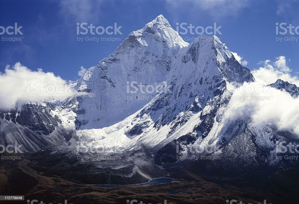 Ama Dablam. Nepal royalty-free stock photo