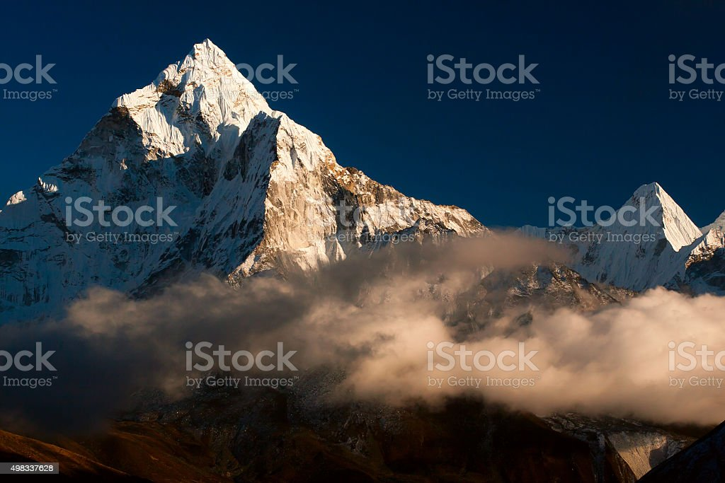 Ama Dablam. Nepal stock photo