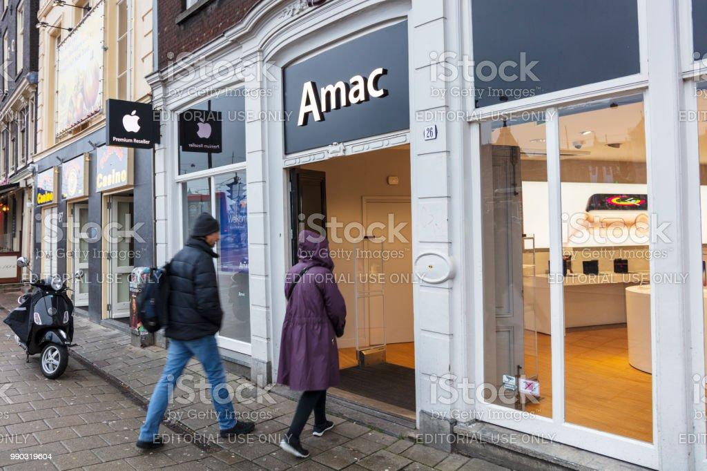 AMAC, loja da Apple em Amesterdão - foto de acervo