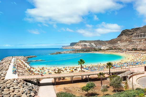 Amadores beach - foto de stock