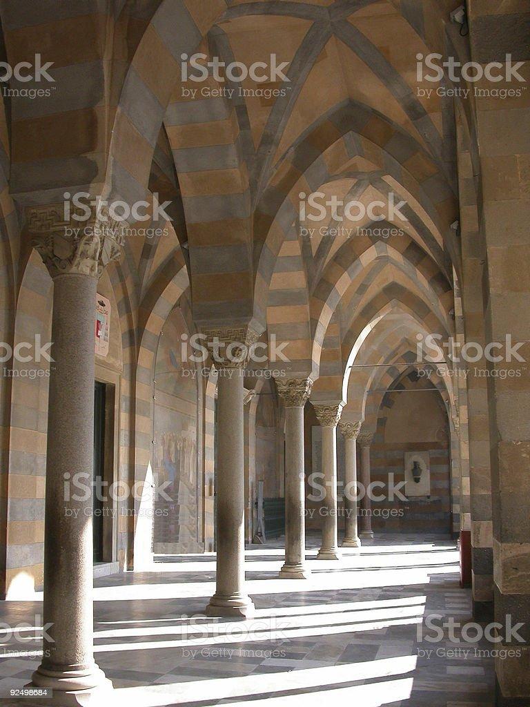 Amalfi Cathedral royalty-free stock photo