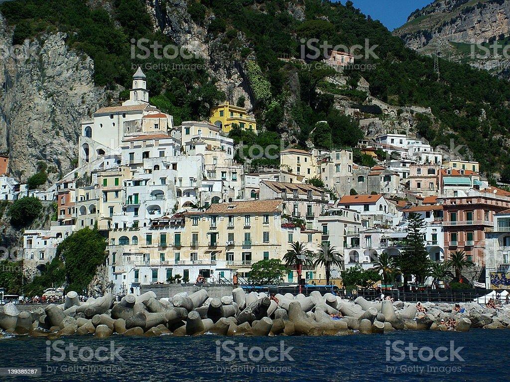 Amalfi Coast 1 royalty-free stock photo