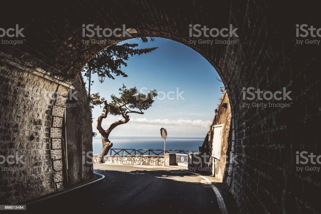 Küste von Amalfi und Sorrent Halbinsel – Foto