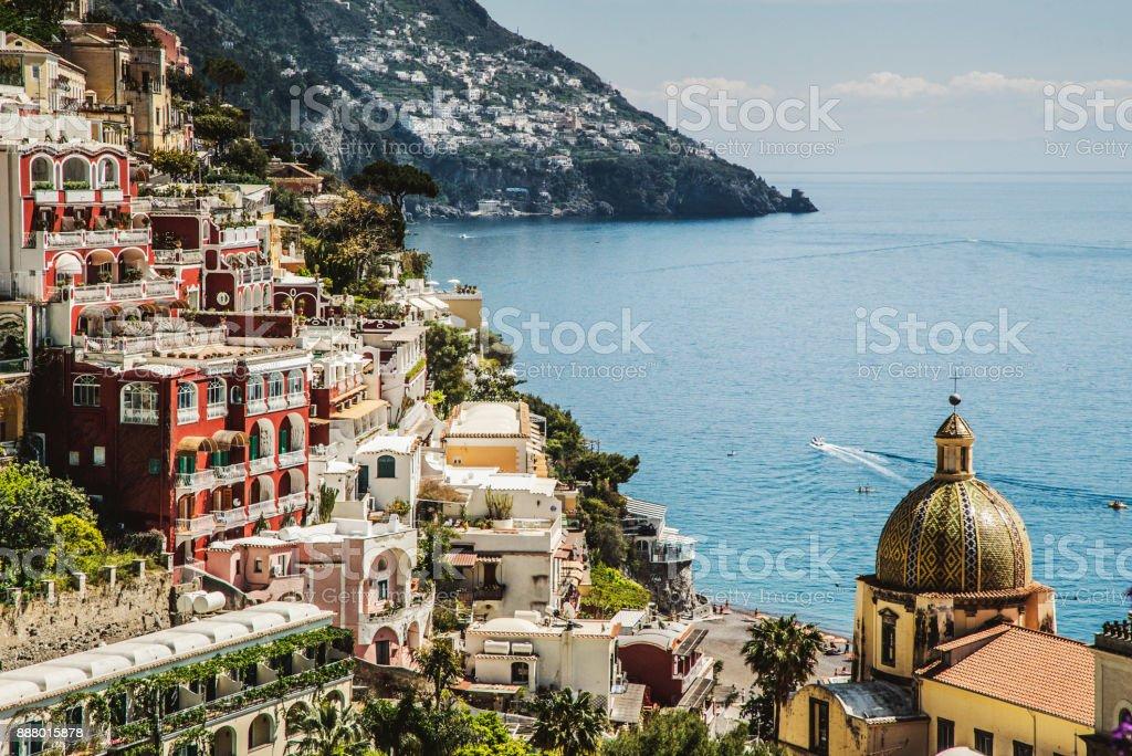Amalfi Küste und die Halbinsel von Sorrent: Positano – Foto