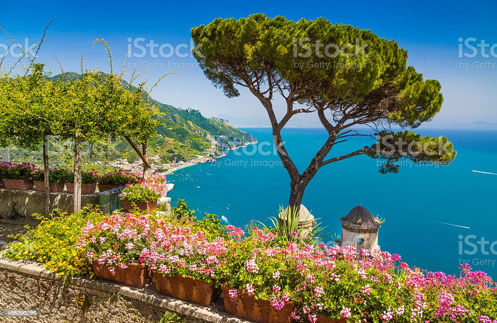 Amalfi Coast, Campania, Italy stock photo