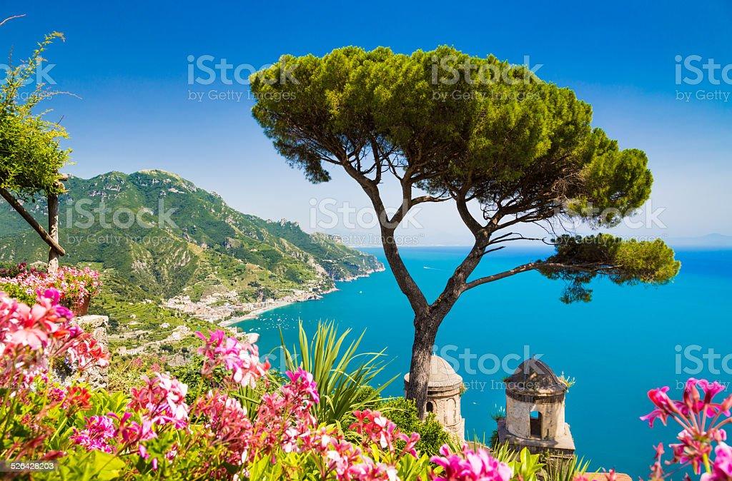 Amalfiküste, Kampanien, Italien – Foto