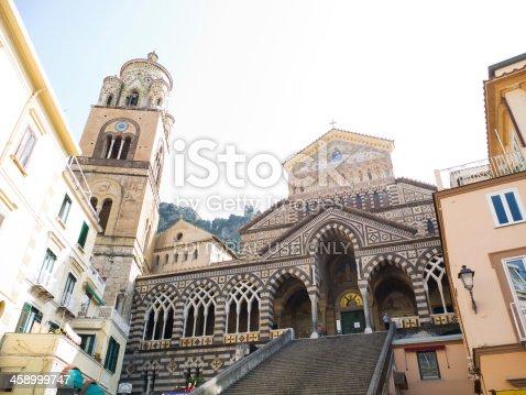 istock Amalfi Coast - Cathedral of St. Andrew- Italy 458999747