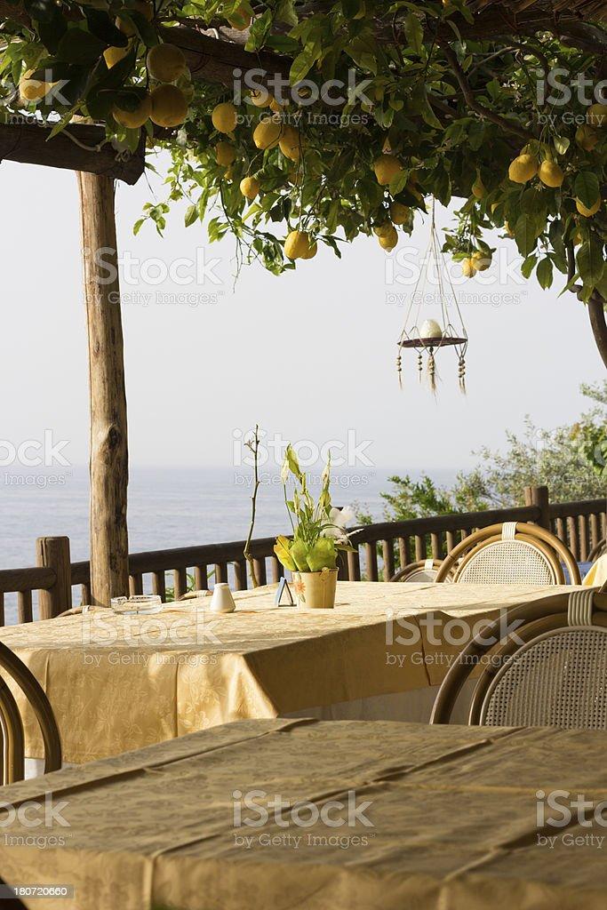 Amalfi Coast in Campania, Italy stock photo