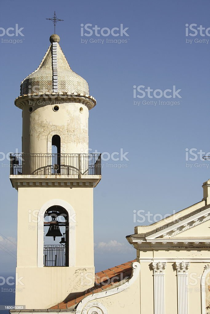 Amalfi Coast, Italy - Chiesa di S. Antonio stock photo