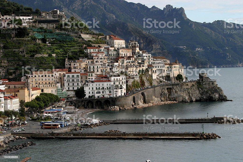 Amalfi Coast Italy stock photo