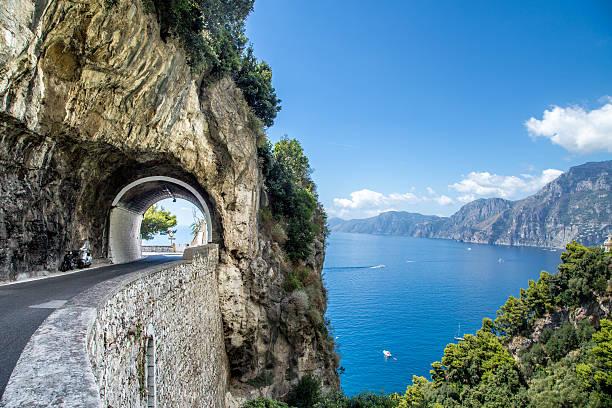 Amalfiküste, Italien. – Foto