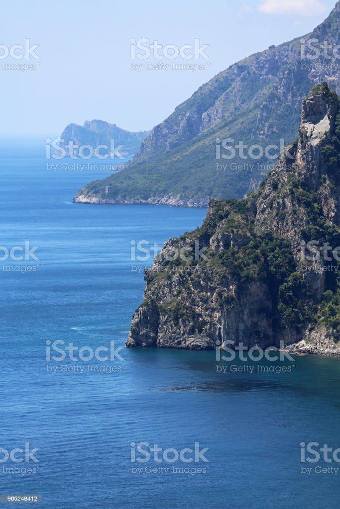 Amalfi Coast zbiór zdjęć royalty-free