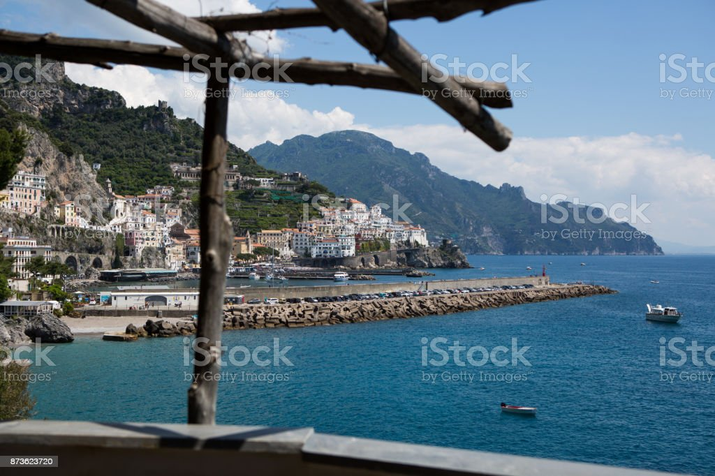 Amalfi Coast Positano Capri Sorrento Napoli Stock Photo