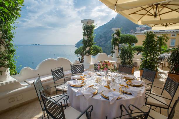 Amalfi coast: Positano stock photo