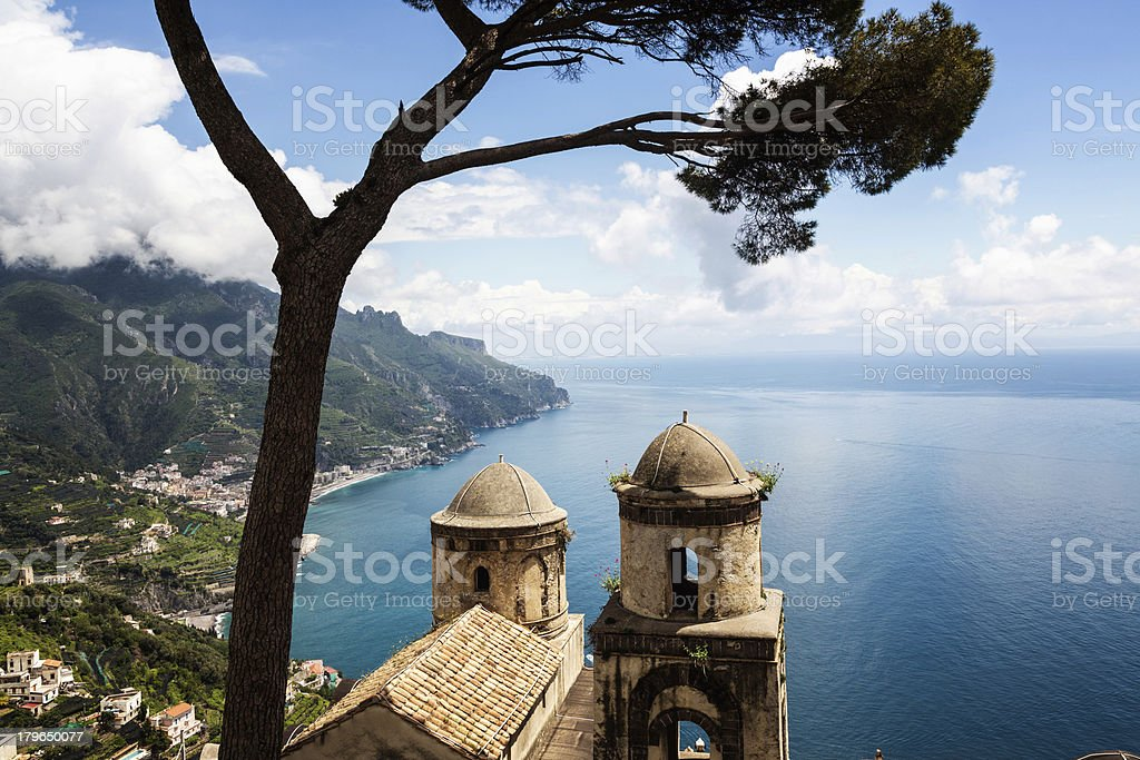 Amalfi Coast View royalty-free stock photo