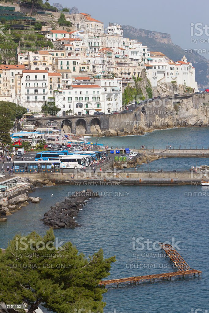 Amalfi in Campania, Italy royalty-free stock photo