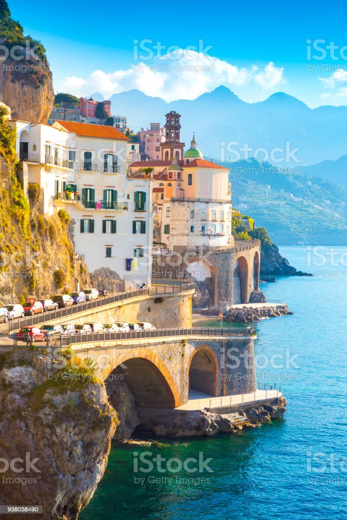 Amalfi, Italy - Foto stock royalty-free di Acqua