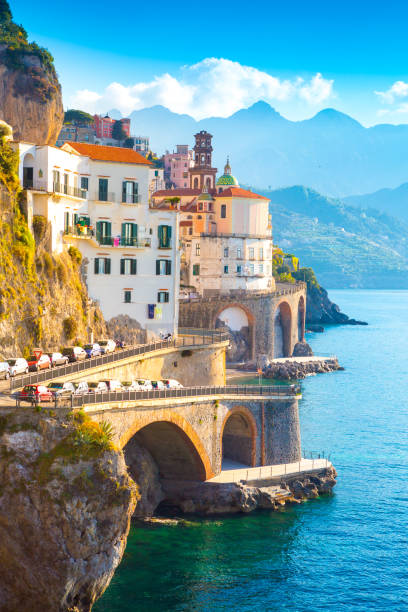 Amalfi, Italy stock photo
