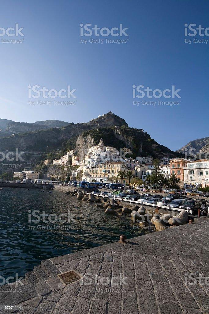 Amalfi photo libre de droits