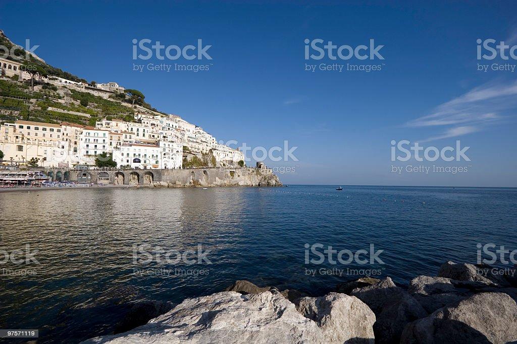 Amalfi royalty-free stock photo