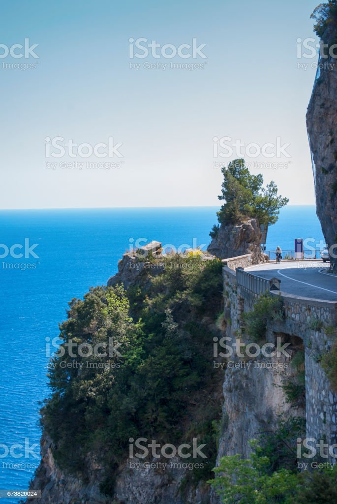 Amalfi road photo libre de droits