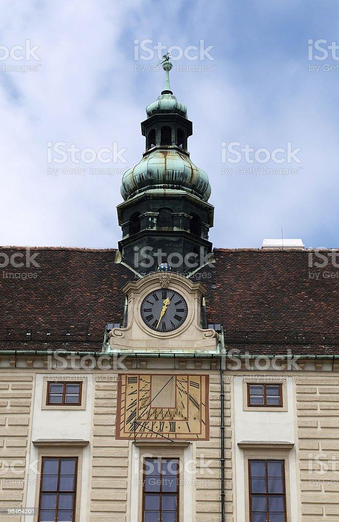 Amalienburg in Inner yard of Hofburg royalty-free stock photo
