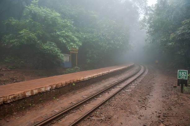 Aman Lodge railway station800.120 MSL Neral - Matheran Hill Railway in; Western Ghats. Maharashtra INDIA