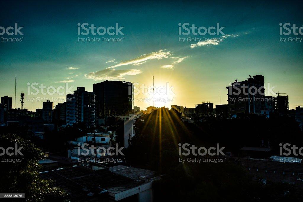 Amanecer stock photo