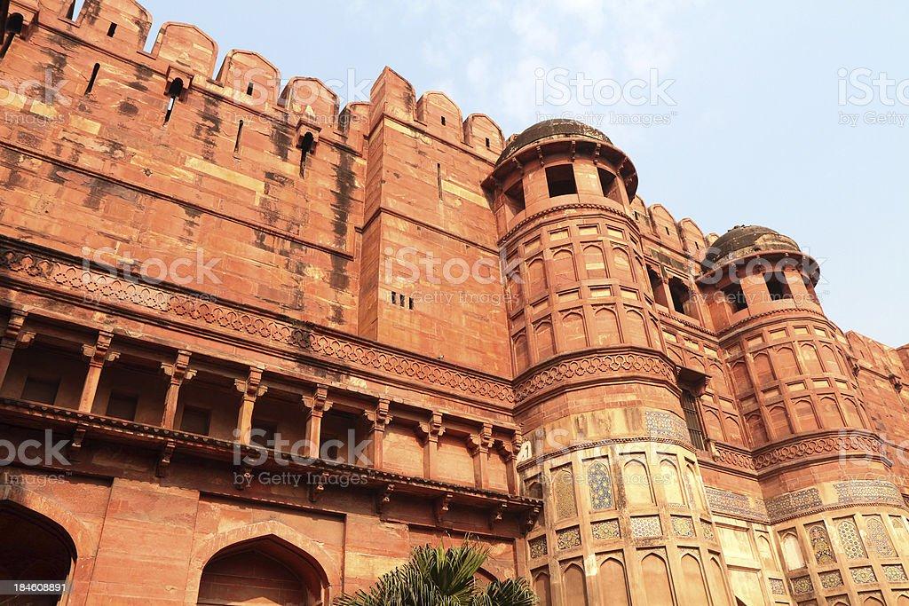 Amar Singh Gate 'Lahore Gate', Agra Fort, Uttar Pradesh, India royalty-free stock photo