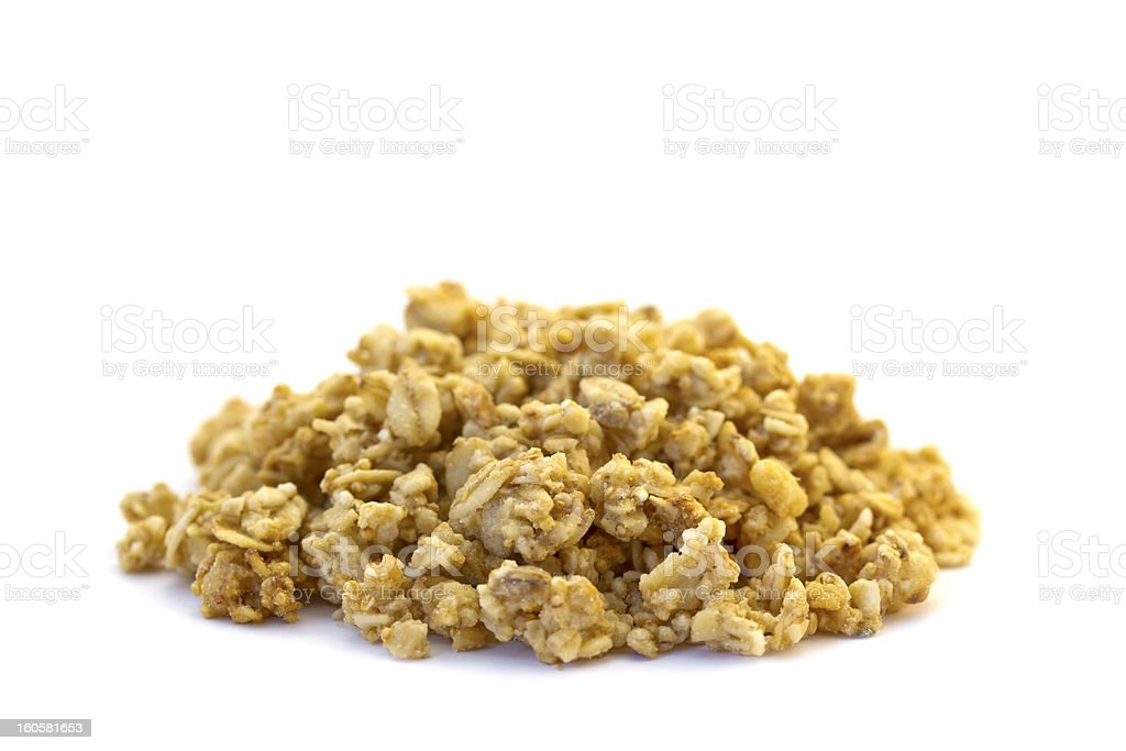 Amaranth Muesli stock photo