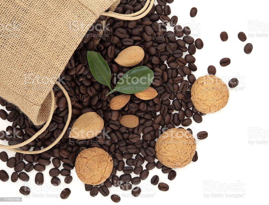 Amaretto Coffee royalty-free stock photo