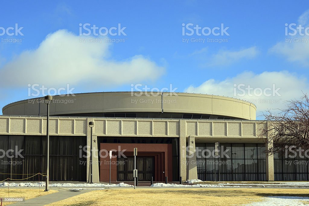 Amarillo Civic Center, Texas stock photo