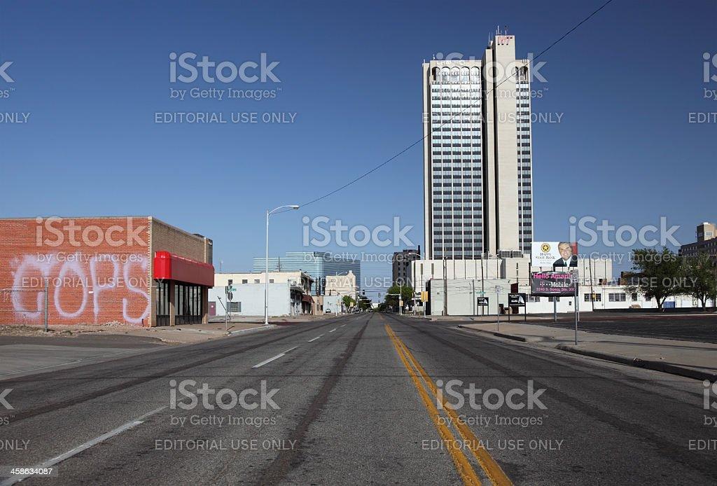 Amarillo, Texas royalty-free stock photo
