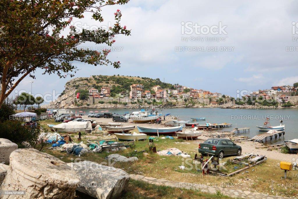 Amasra, Bartın, Karadeniz Bölgesi, Türkiye stok fotoğrafı