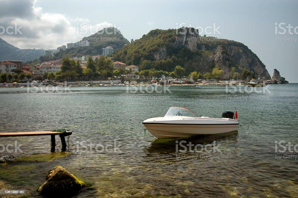 Amasra sahil, Bartın, Türkiye stok fotoğrafı