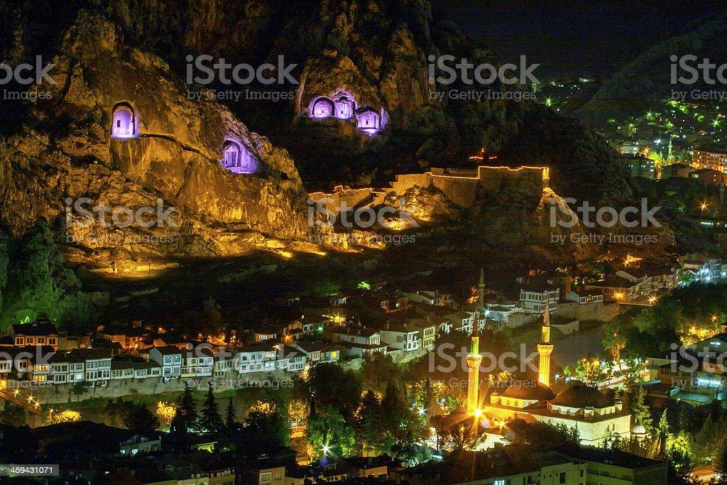 Amasya City royalty-free stock photo