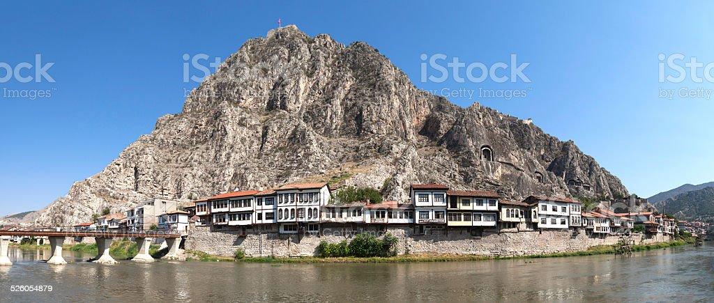 Amasya Panaromic view stock photo