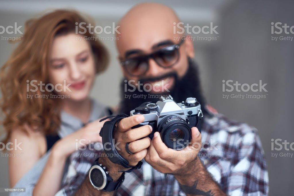 Amateur couple redhead