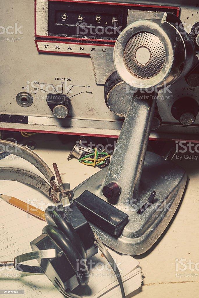 Amador estação de rádio - foto de acervo