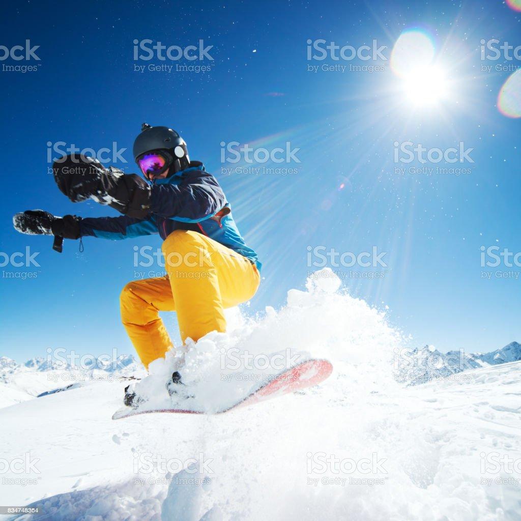 Amateur Winter Sports stock photo