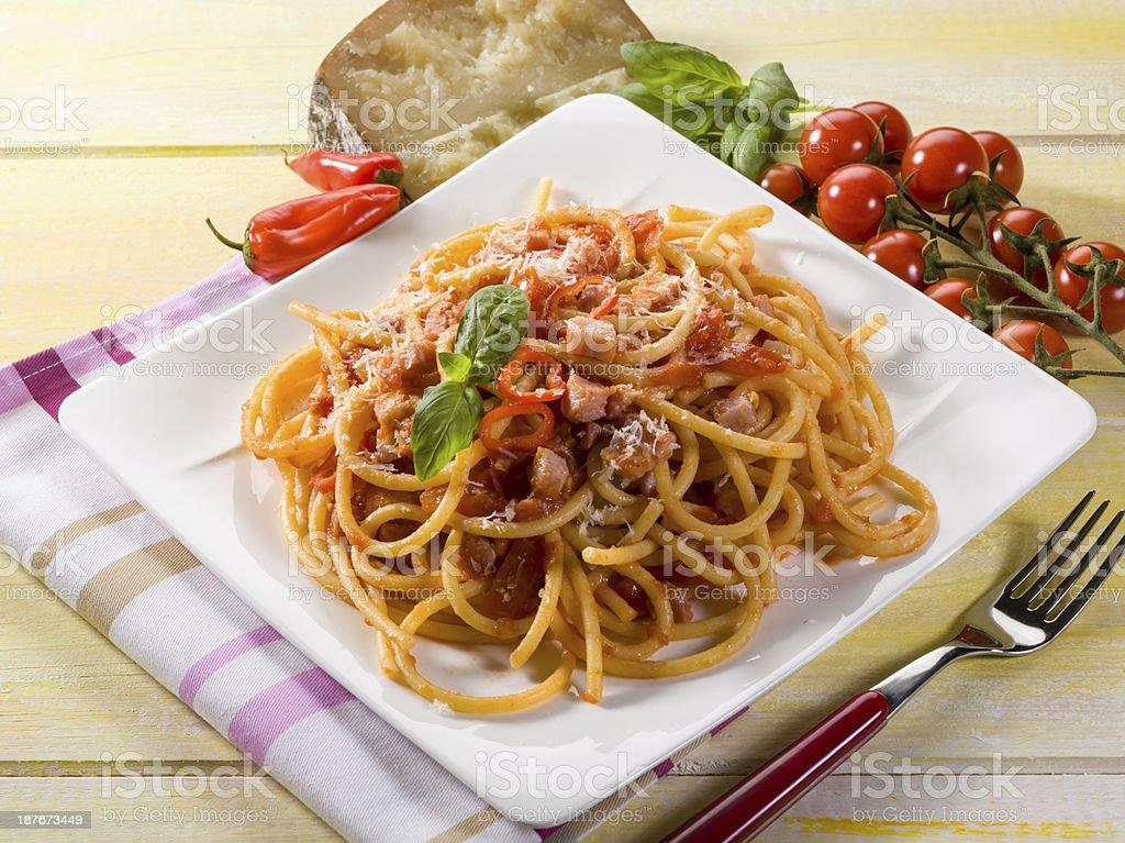 amatriciana spaghetti – Foto