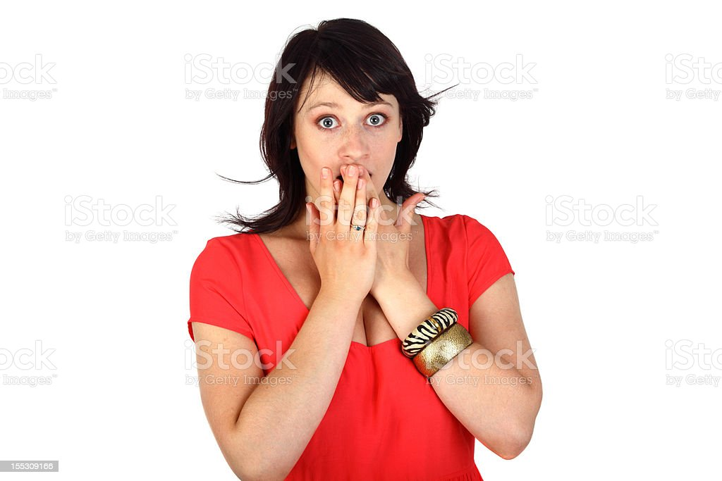 amazed stock photo
