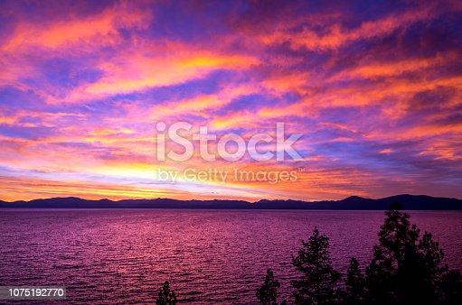 511675552istockphoto Amazing autumn sunset in Lake Tahoe, Nevada-USA 1075192770