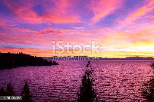 511675552istockphoto Amazing autumn sunset in Lake Tahoe, Nevada-USA 1075193032