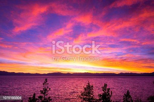511675552istockphoto Amazing autumn sunset in Lake Tahoe, Nevada-USA 1075193304