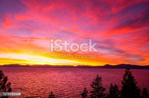 511675552istockphoto Amazing autumn sunset in Lake Tahoe, Nevada-USA 1075193338