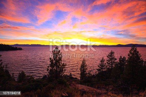 511675552istockphoto Amazing autumn sunset in Lake Tahoe, Nevada-USA 1075194018