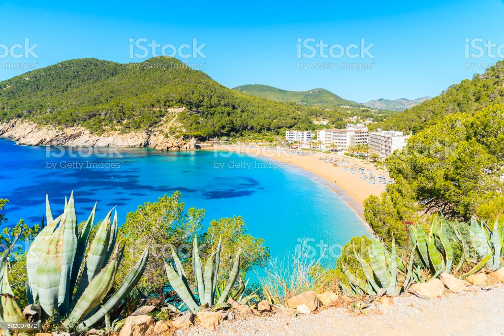 Amazing Beach View With Azure Sea Water In Cala San Vicente